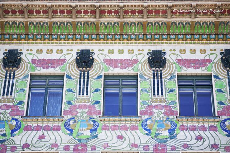 Casa de las Mayólicas - Viena, por El Guisante Verde Project