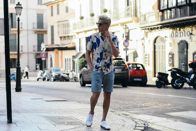 estampado tropical, blogger, fashion menswear, tendencia masculina