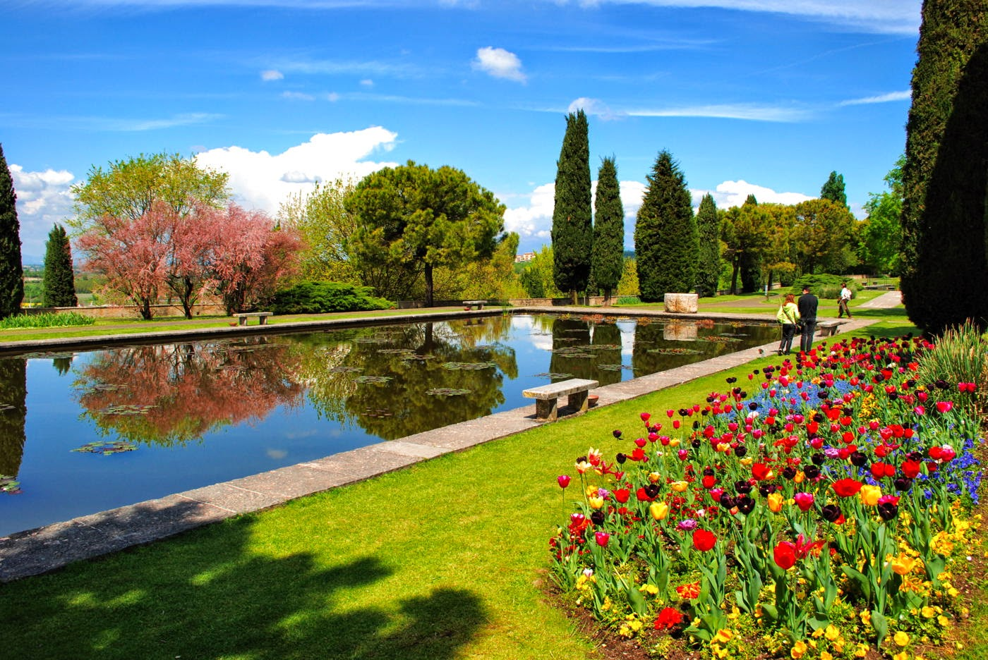 Spring weekend at Sigurtà Garden Park in Verona