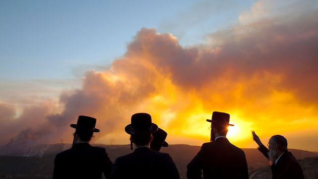 مفاجأة كشف غموض ولغز حرائق إسرائيل