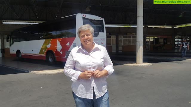 El Ayuntamiento de Los Llanos reforma los baños de la Estación de Guaguas