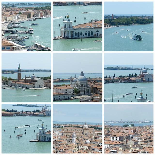 Roteiro de 2 dias em Veneza - vista aérea do Campanário de São Marco