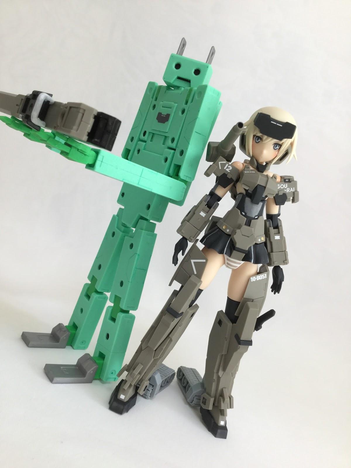 フレームアームズ・ガール 充電くん GOURAI ver.