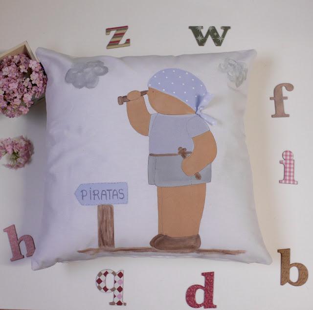 cojín-infantil-personalizado-decoración-infantil