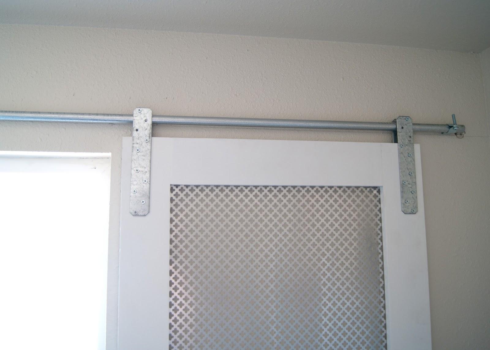 Diy Barn Door Window Cover For The Bathroom Hanging Cov