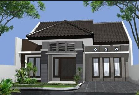 desain rumah sederhana minimalis gratis murah tapi elegan