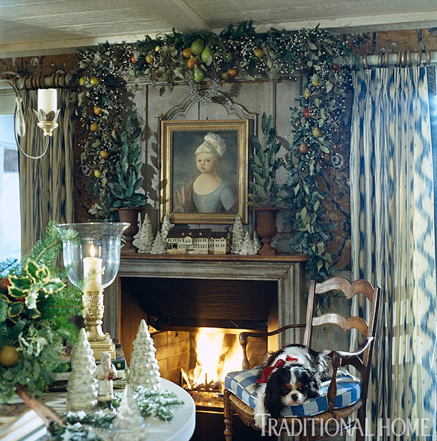Charles Faudree S Country Cabin: Hydrangea Hill Cottage: French Country Christmas At The Cabin