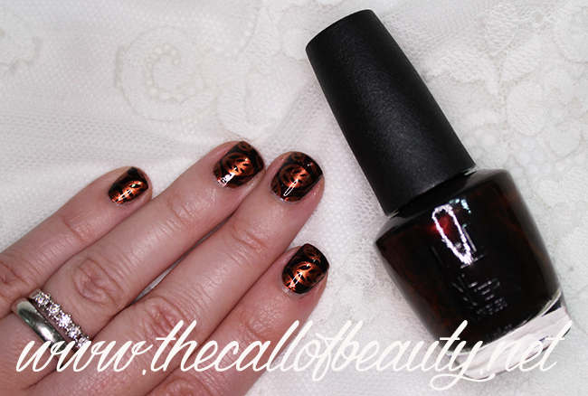 Fall Foliage Nail Art