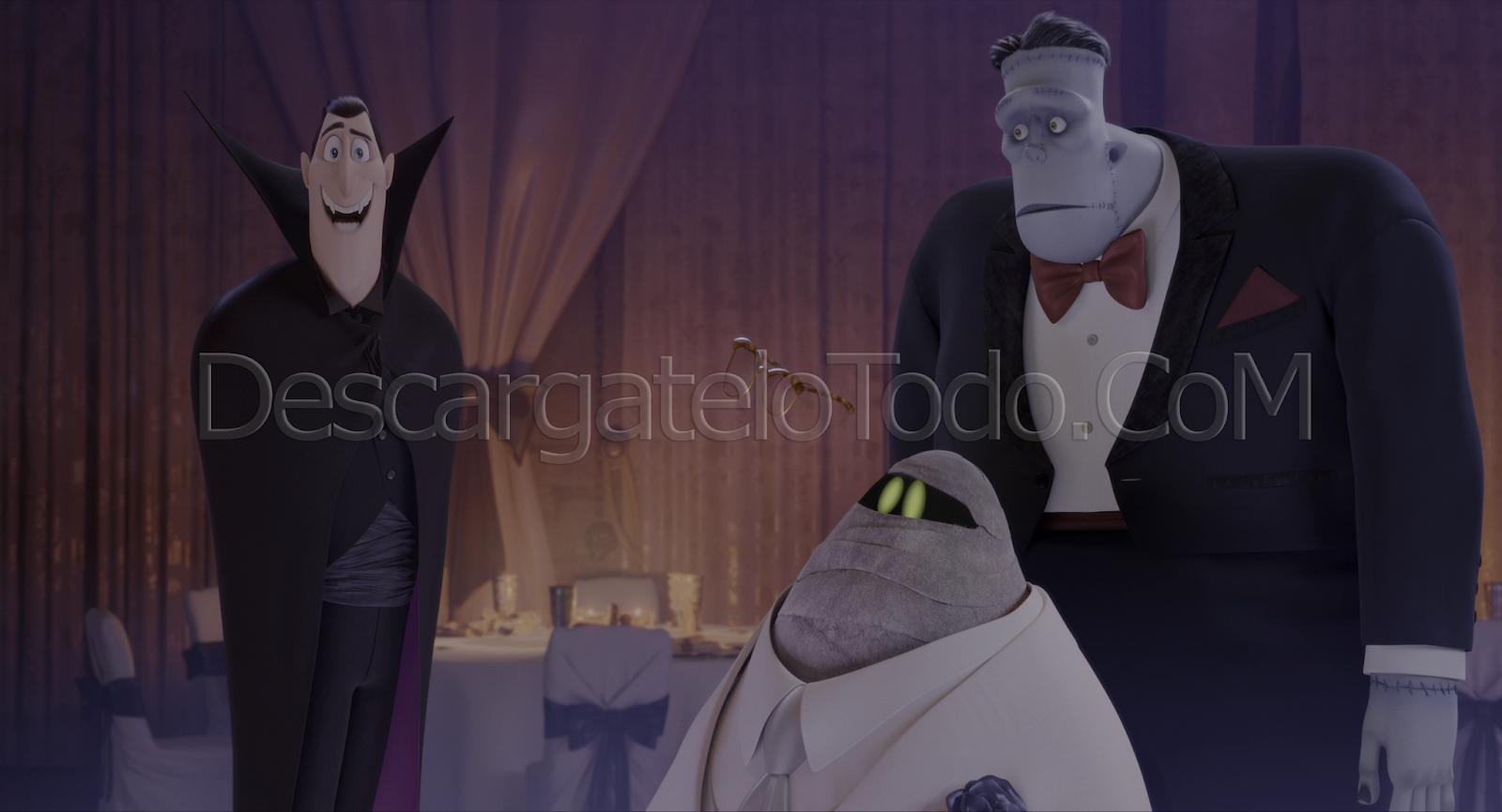 Hotel Transylvania 3: Monstruos de Vacaciones (2018) 4K UHD [HDR] Latino-Ingles captura 1
