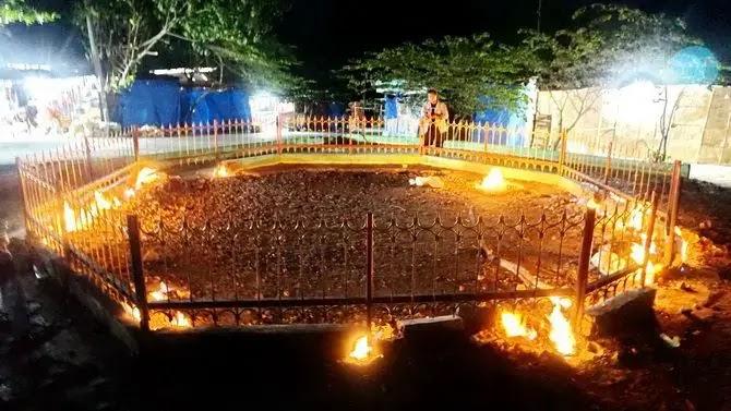 Api Yang Tak Pernah Padam Pamekasan, Madura - foto VIVIN AGUSTIN HARTONO Radar Madura id