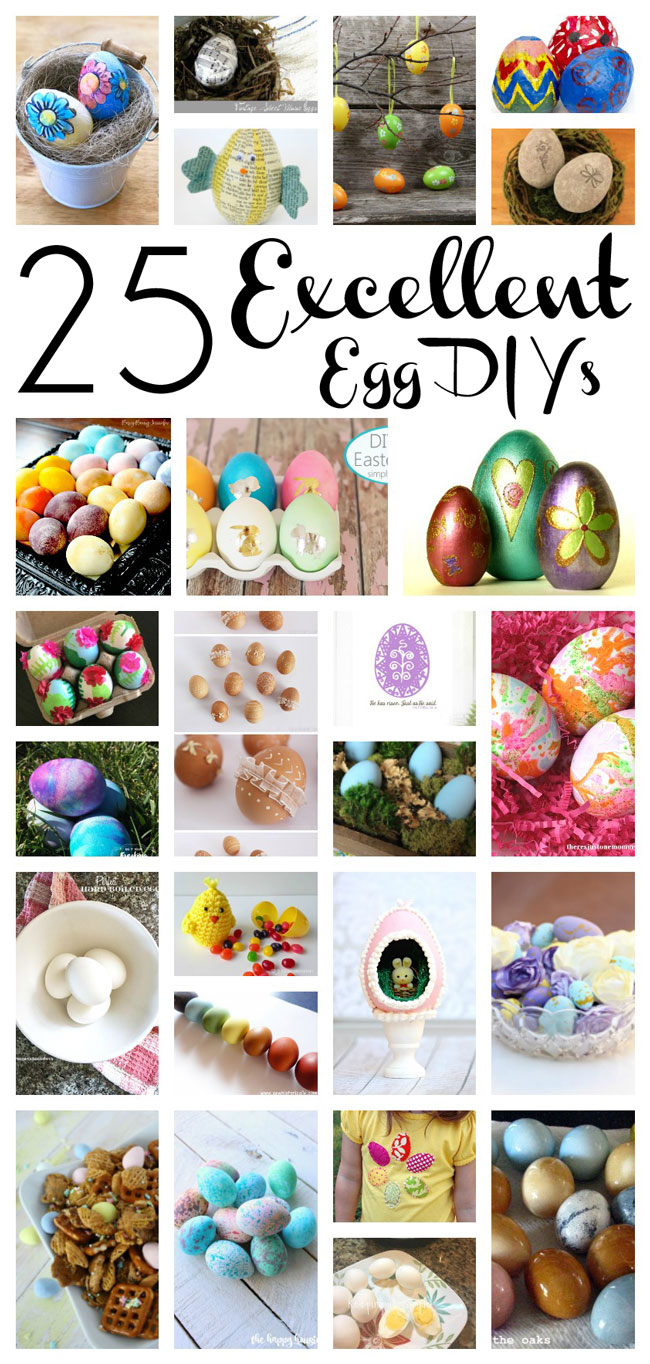 Pieces By Polly 25 Excellent Egg Diys And The Weekly