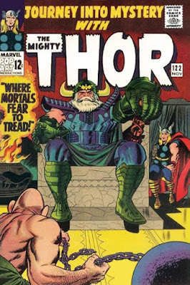 Journey Into Mystery #122, Odin vs Absorbing Man