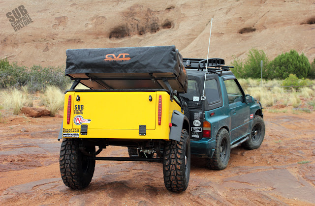 Testing the Dinoot Trailer in Moab