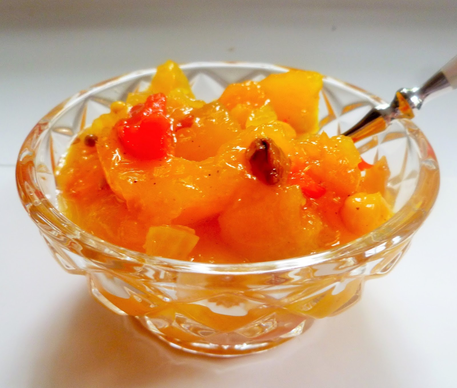 Lindaraxa: Sweet And Spicy Mango Chutney
