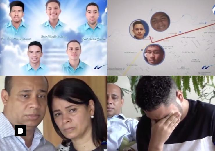 (Video) Nuria: Reconstruyen con GPS el accidente que terminó con la vida de cinco adolescentes