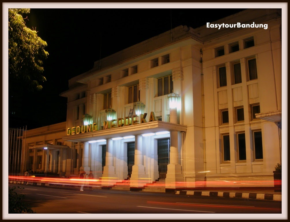 Berwisata Ke Gedung Merdeka Bandung Easy Tour Bandung