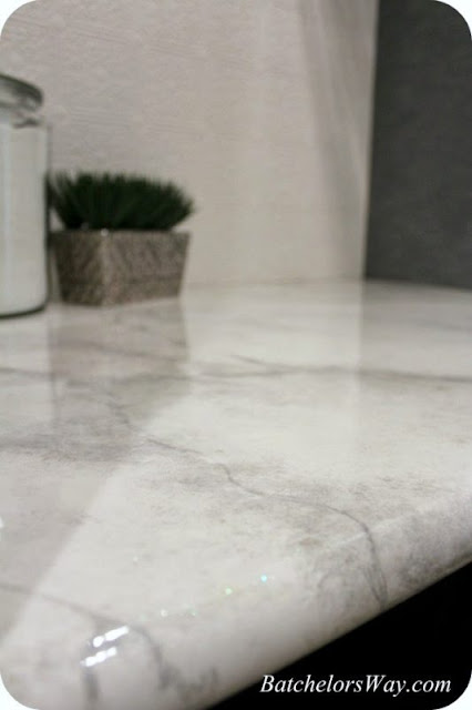 DIY how to paint countertops