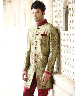 indo western menswear for wedding