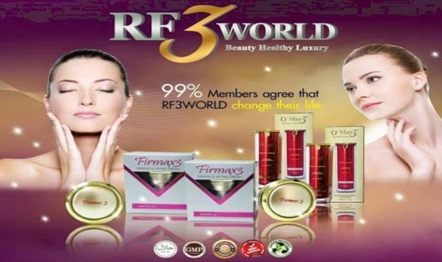 RF3 World Firmax3 Malaysia, FirMax3, SoulMax3, Slimax3, O2Max3