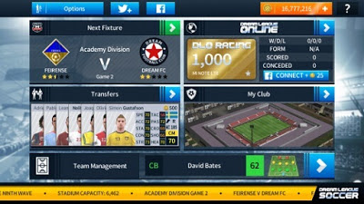 Dream League Soccer 2019 APK MOD Gojek Liga 1 Indonesia PSM Makasar Full Unlocked