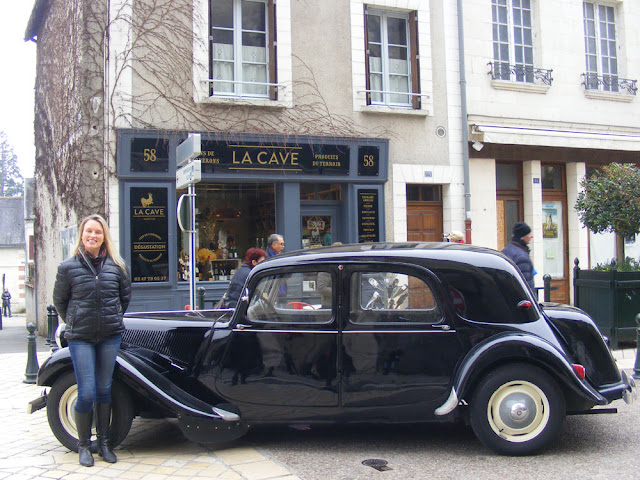 La Cave Amboise, wine boutique in Amboise.  Indre et Loire, France. Photographed by Susan Walter. Tour the Loire Valley with a classic car and a private guide.