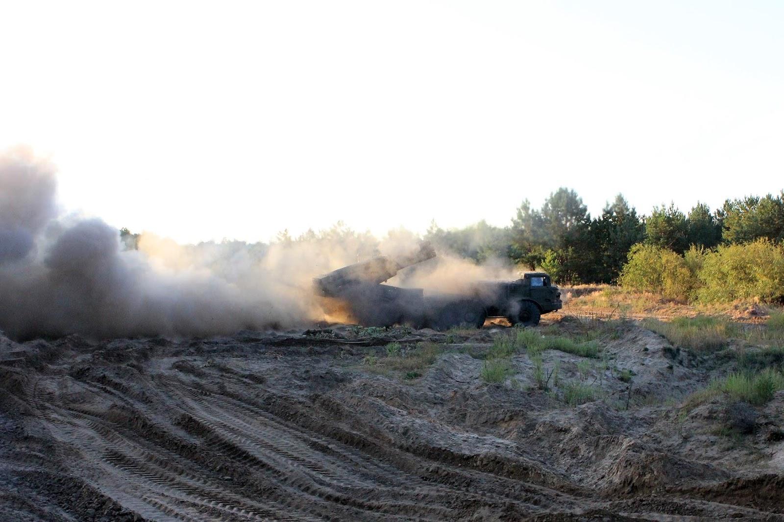 БМ-27 зі складу РСЗВ 9К57 «Ураган» на Ukrainian Military Pages