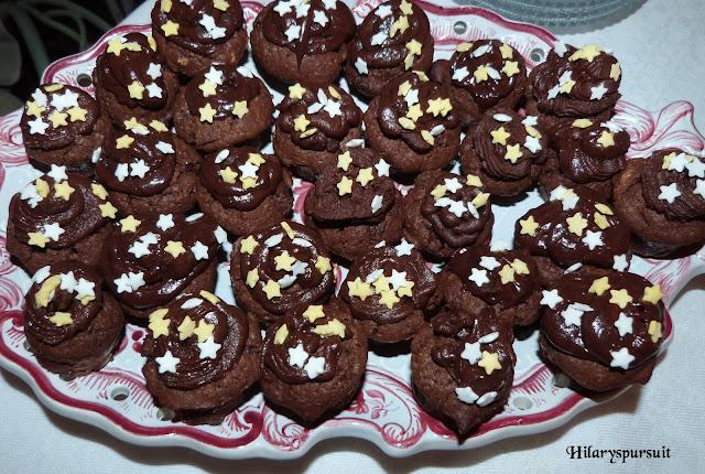 Cupcakes tout chocolat