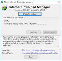 Patch Internet Download Manager 6.26 Build 9