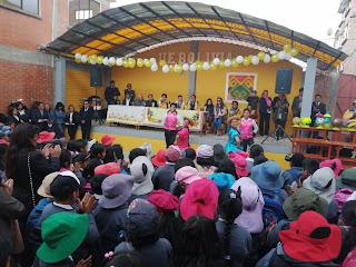 UE San Marcos Fe y Alegría recibe  equipamiento en el inicio del año escolar