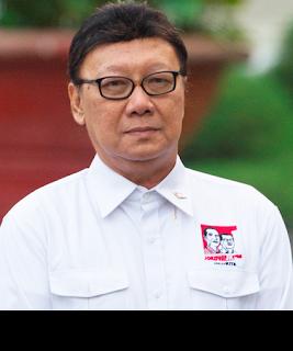 Gambar Menteri Dalam Negeri Tjahjo Kumolo