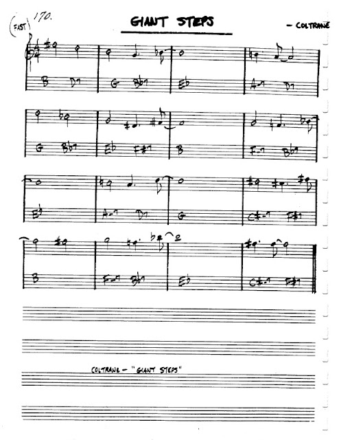 Partitura Flauta John Coltrane