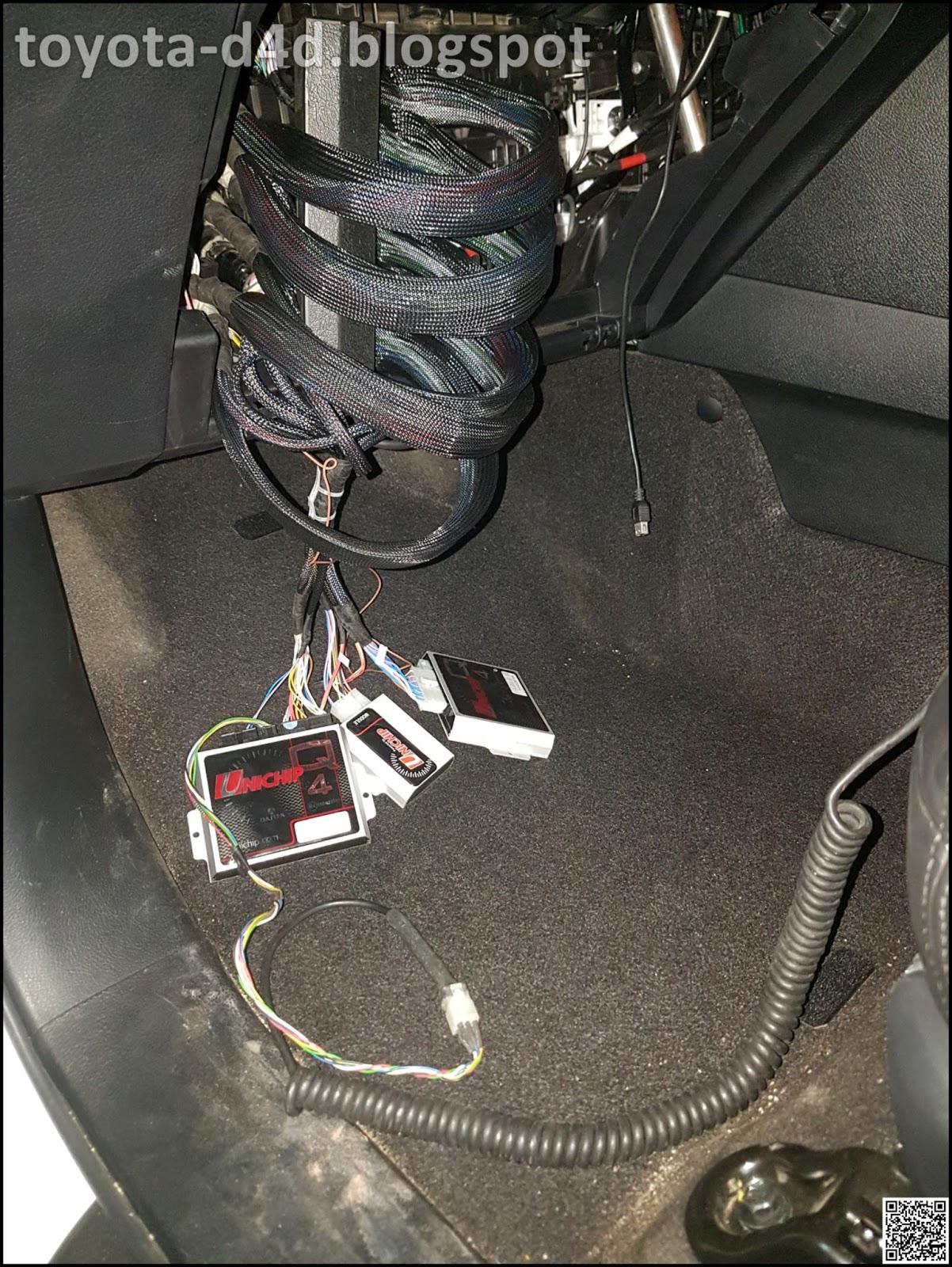 Toyota D4d  Unichip Tuned Innova Crysta