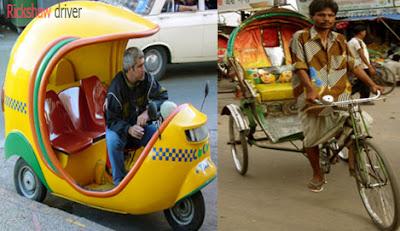 rickshaw driver occupation