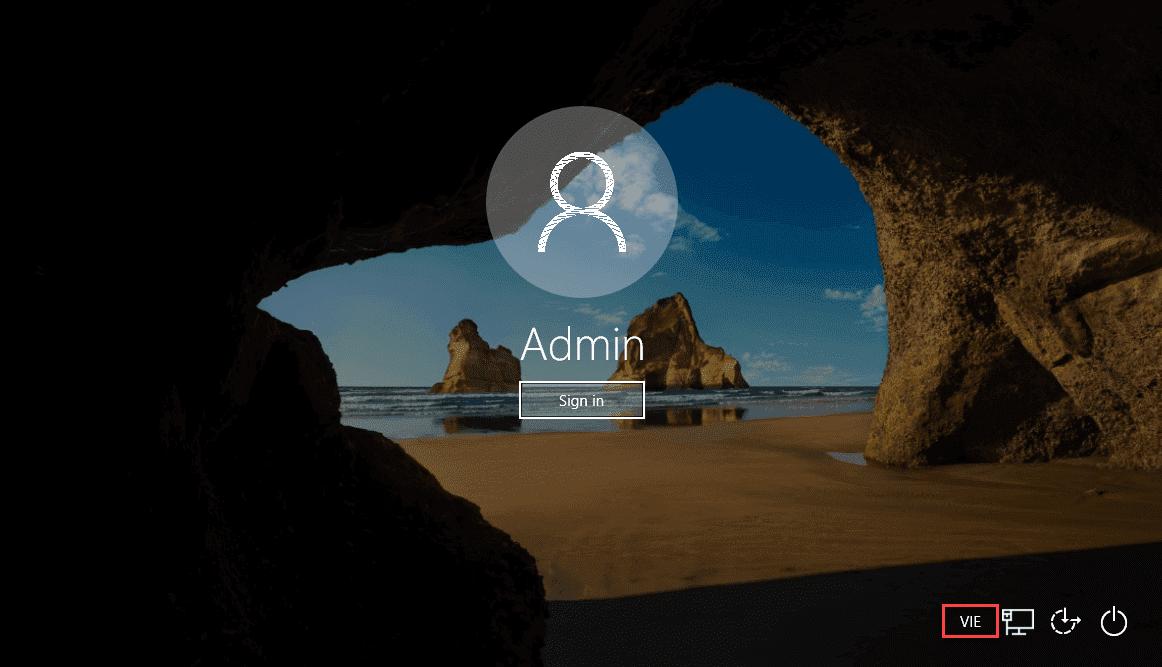 Thiết lập bố trí bàn phím mặc định trong Windows 10