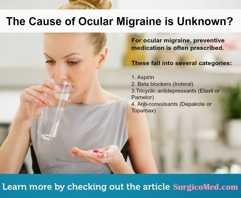 Causes of Ocular Migraine