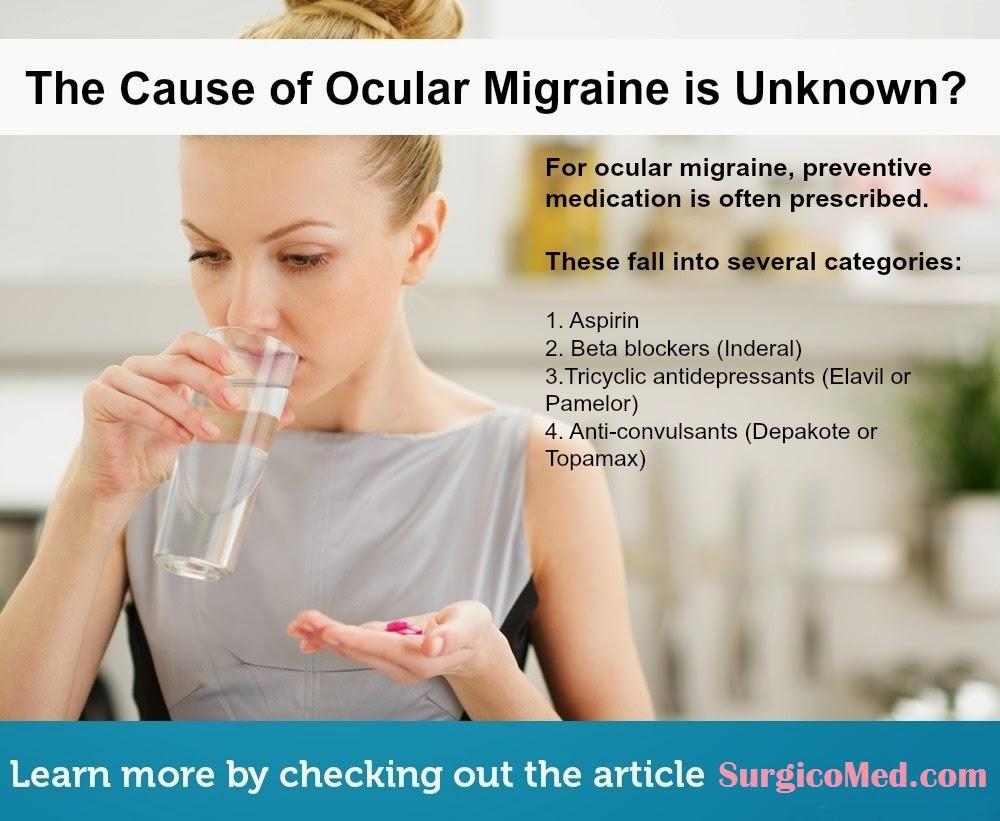 Causes of Ocular Migraine