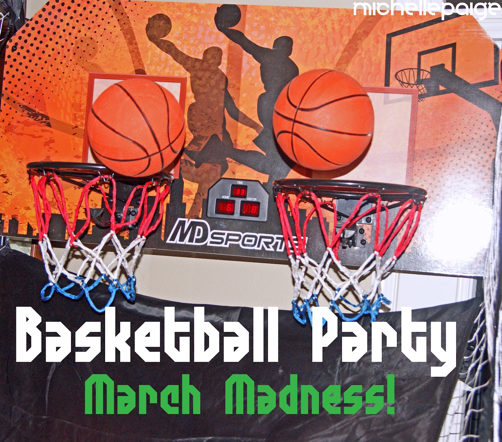 michelle paige blogs basketball party march madness
