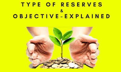 Types of Reserves & Objective- Explained