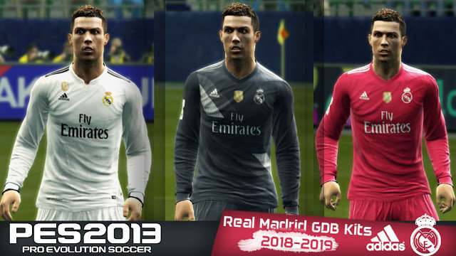 Real Madrid Kit 2018 PES 2013