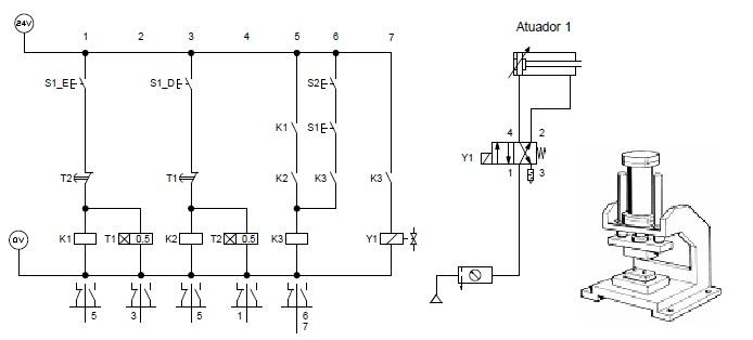 eletropneum u00e1tica e eletro hidr u00e1ulica ex 42 circuitos