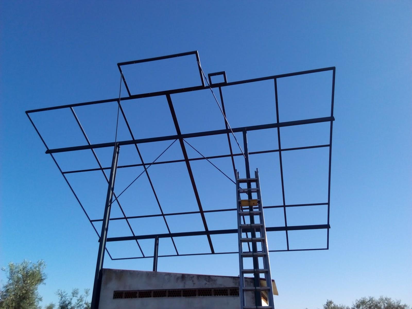 Pizarro Guareña (Badajoz): EXTRUCTURA PARA PLACAS SOLARES