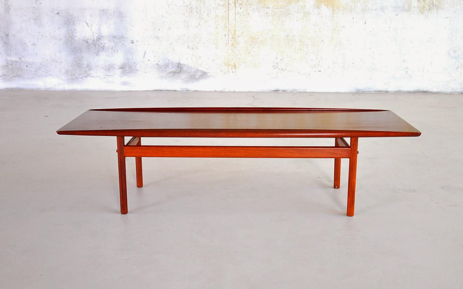 Select Modern Grete Jalk Surfboard Coffee Table