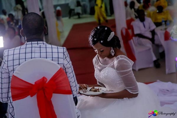 Aww! Check Out The Adorable Photos From Chidi & Ufoma's Wedding