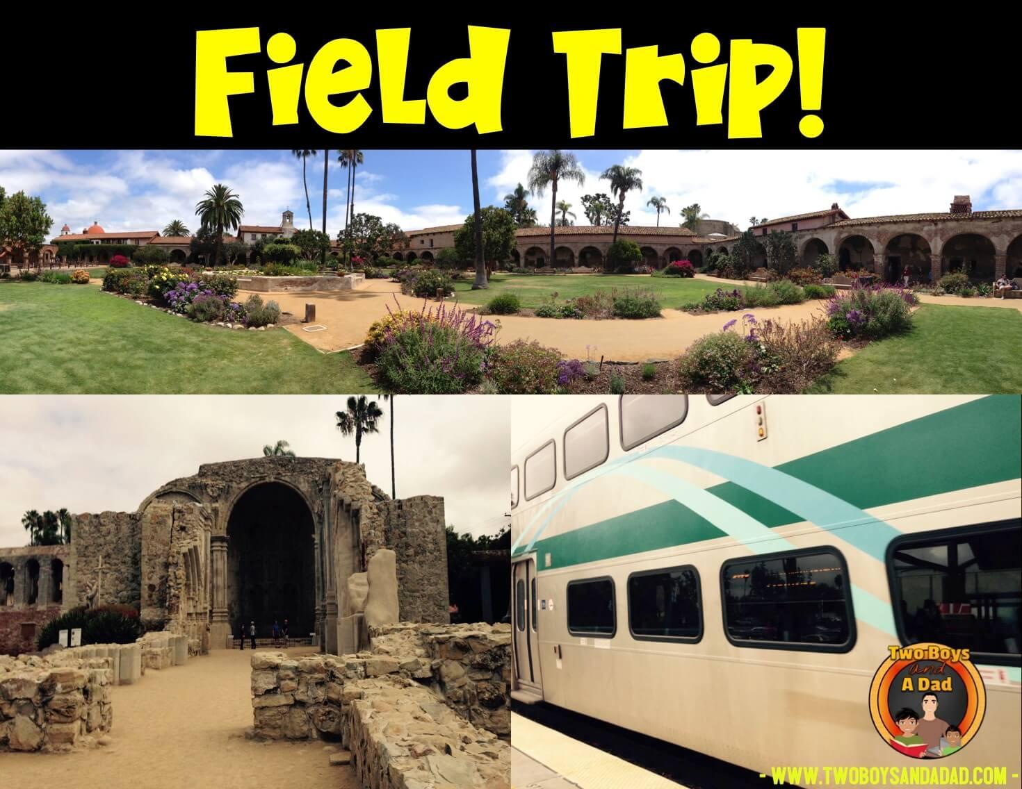 San Juan Capistrano Mission field trip