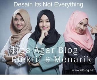 Buat Blog Lebih Menarik Dan Efektif