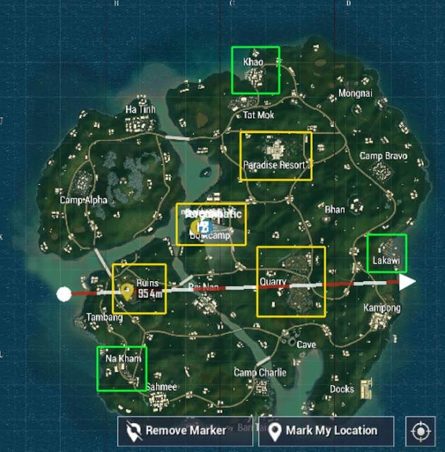 lokasi-lot-senjata-di-map-sanhok-pubg