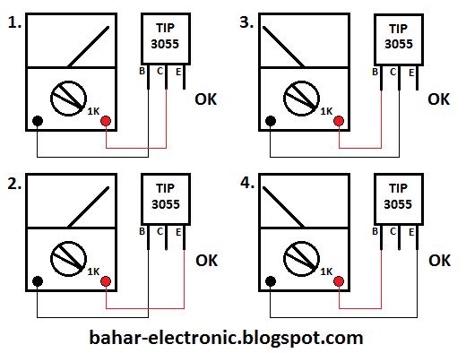 cara mengecek transistor final power amplifier bahar electronic. Black Bedroom Furniture Sets. Home Design Ideas