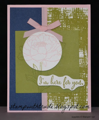 Tuesday Tutorial, You've Got This, #stampinup, Trude Thoman, encouragement card, http://stampwithtrude.blogspot.com