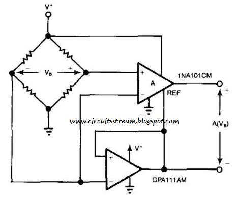 Build a Bridge Circuit Diagram With One Power Supply