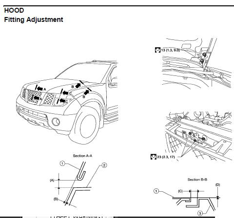 repair-manuals: Nissan Pathfinder R51 2005 Repair Manual